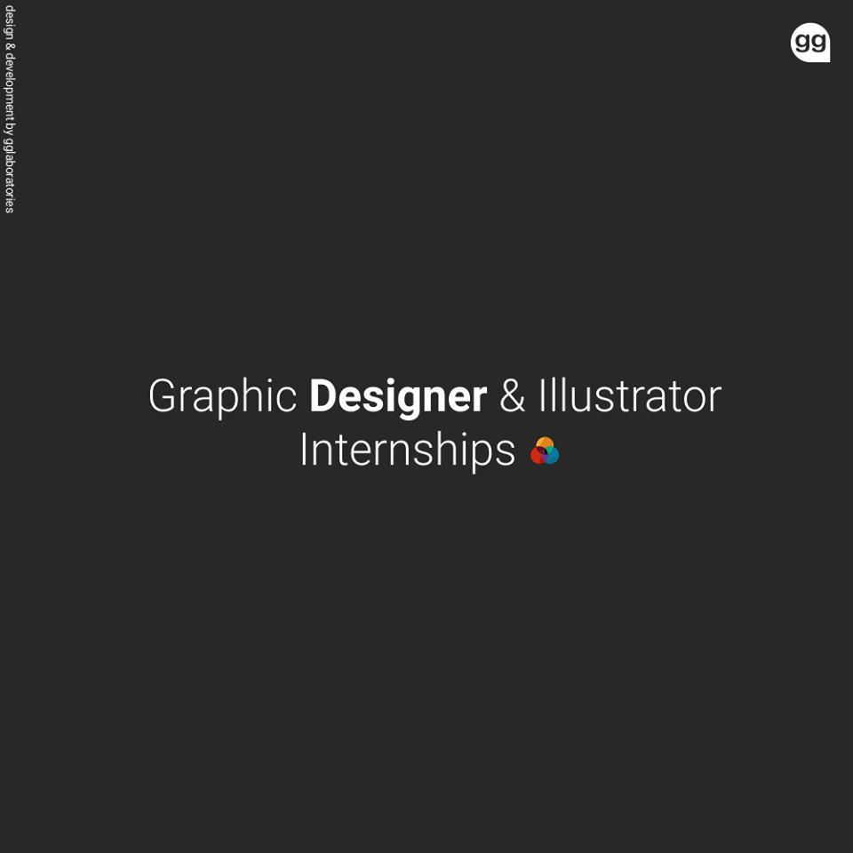 Graphic Designer & Illustrator Internships
