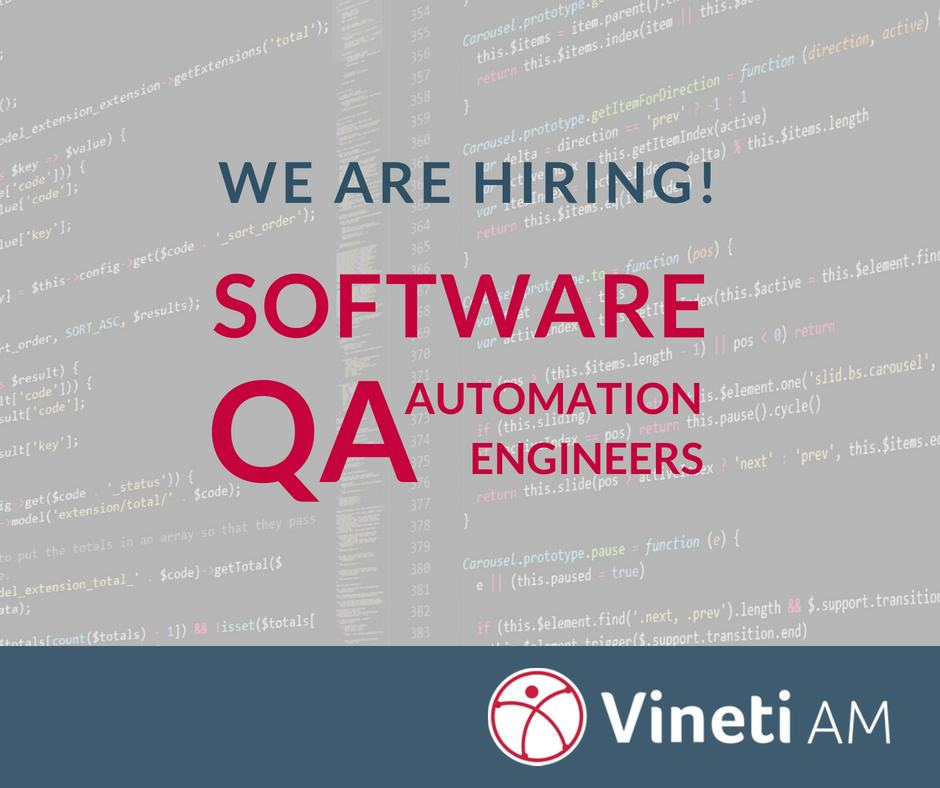Software QA Automation Engineer